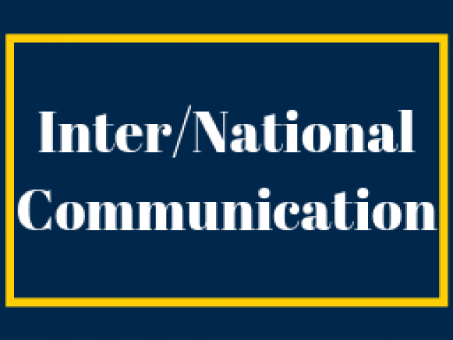 Inter/National Communication