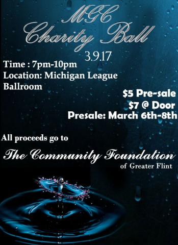 Charity Ball Flyer