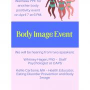 Body Image Event Flyer
